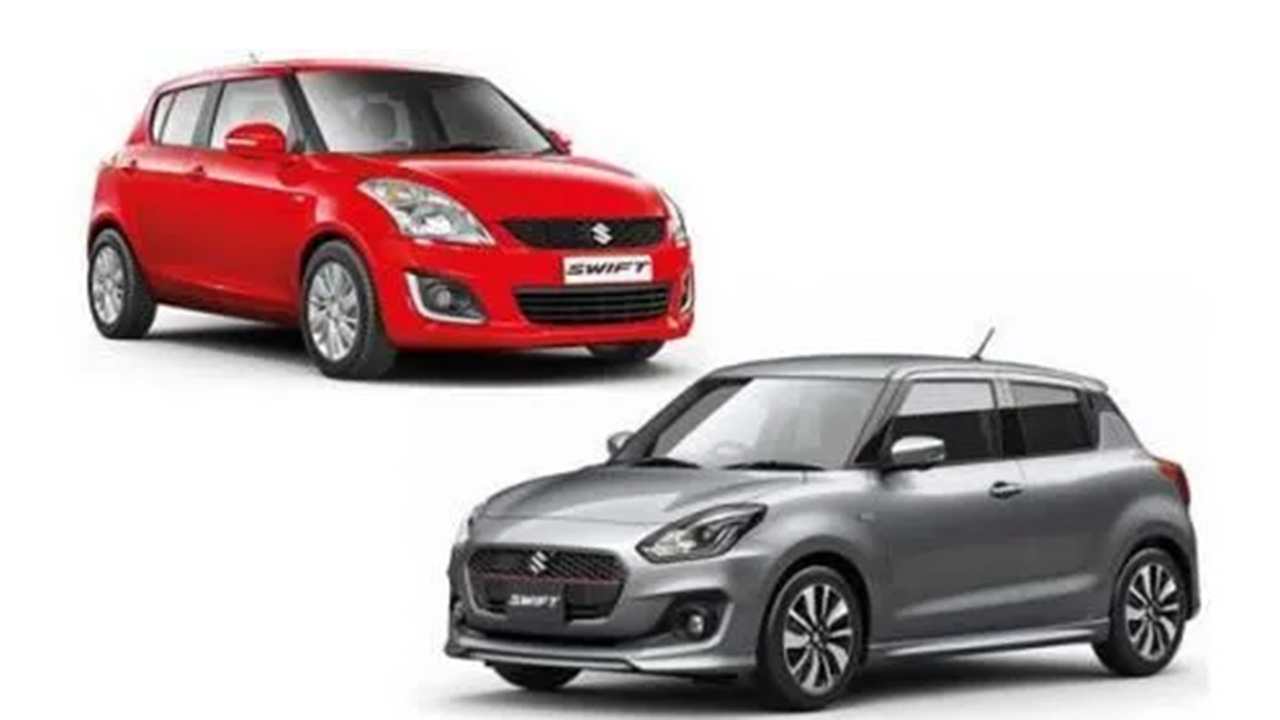 Maruti Suzuki Swift Old And New Comparison1