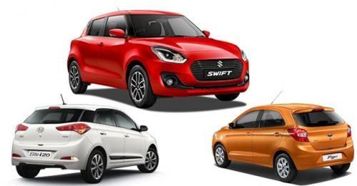 Maruti Swift Vs Hyundai Elite I20 Vs Ford Figo Layouts
