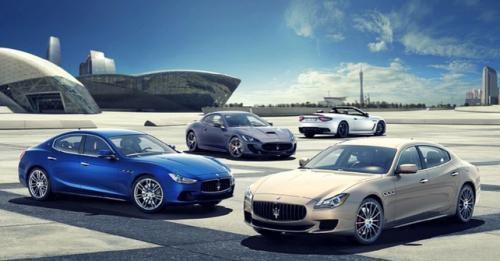 Maserati India Range
