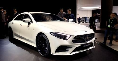 Mercedes Benz Cls Front