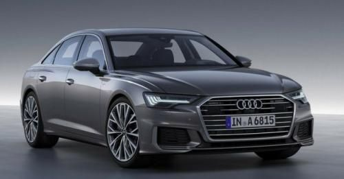 New Audi A6 Front