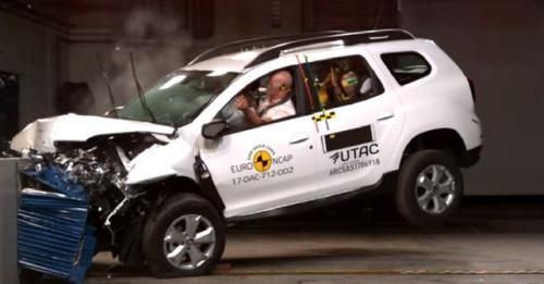 New Duster Ncap Test 3 Stars