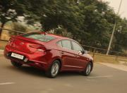 new hyundai elantra rear three quarter dynamic
