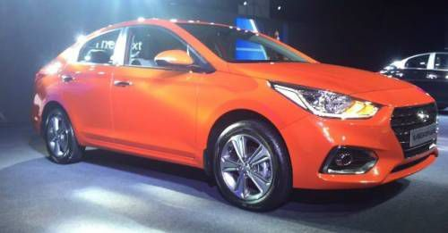 New Hyundai Verna India M