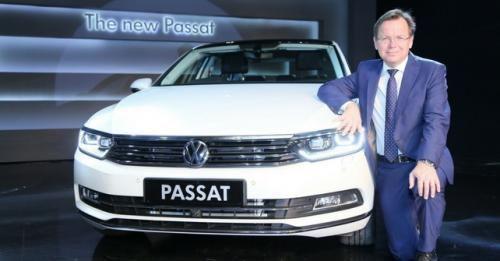 New Vw Passat Front
