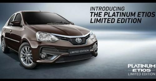 Platinum Etios Limited Edition