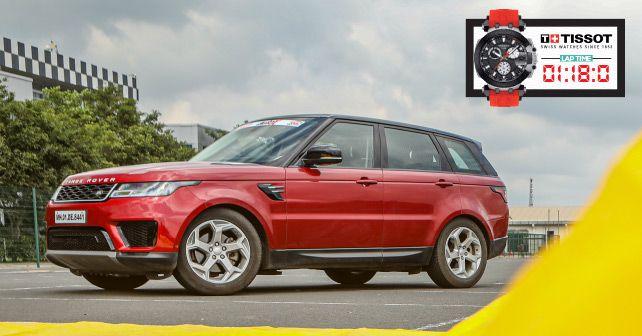 Range Rover Sport Track Test