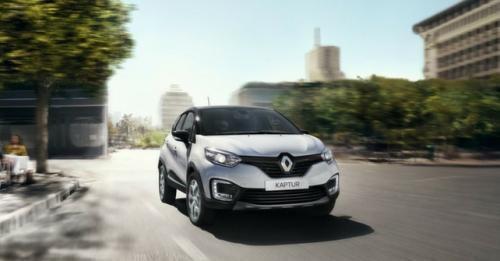 Renault Captur Front