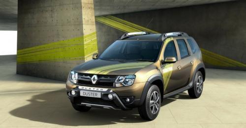 Renault Duster Sandstrom Front