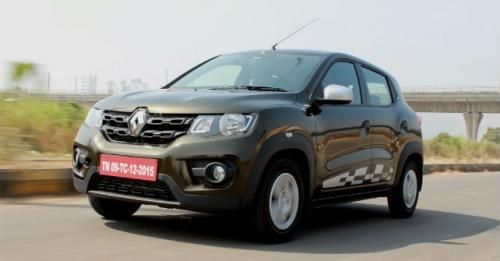 Renault Kwid Amt Front Three Quarter M1