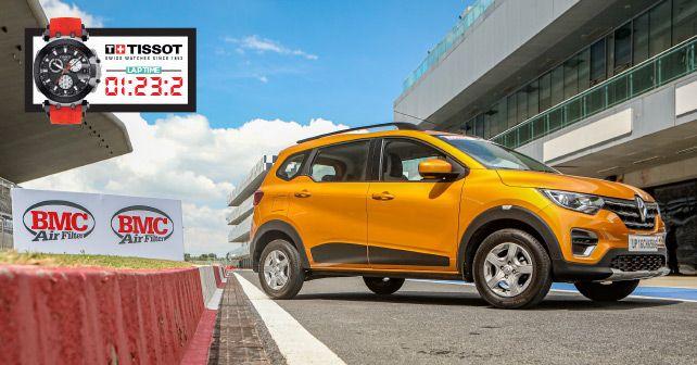 Renault Triber Track Test