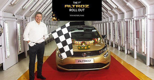 Tata Altroz Rolls Off Production Unit