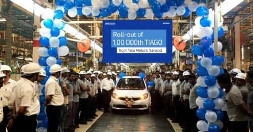 Tata Tiago One Lakh Cars Produced