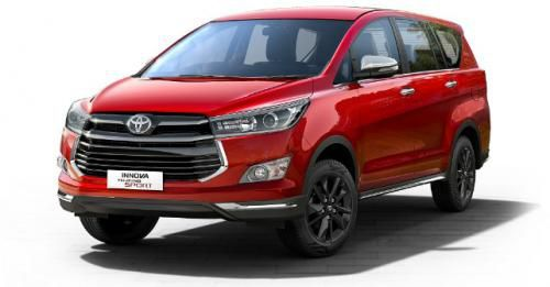 Toyota Innova Crysta Touring Sport Front Angle M