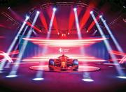 universo ferrari f1 car display