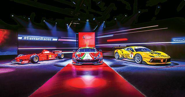 Universo Ferrari Supercar Display