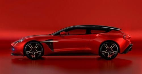 Vanquish Zagato Shooting Brake Side