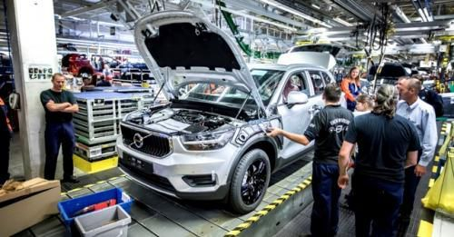 Volvo Xc40 Production Begins