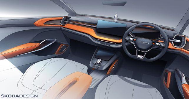 2020 Skoda Vision IN Concept Interior