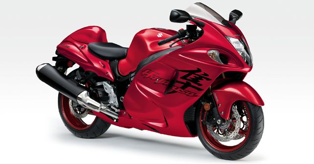2020 Suzuki Hayabusa in Candy Daring Red