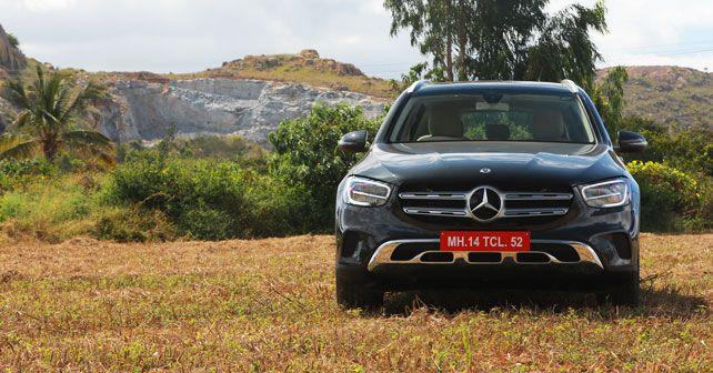 2020 Mercedes Benz GLC Front