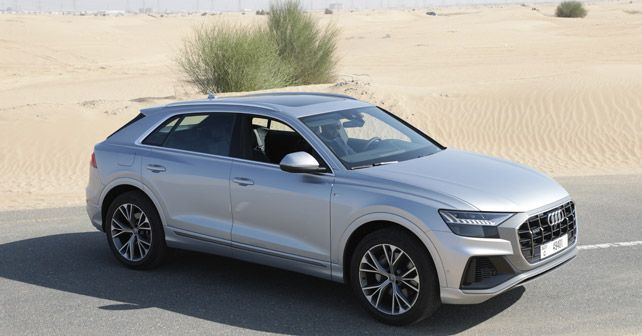 New Audi Q8 Front Three Quarter