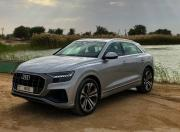 Audi Q8 Front Three Quarter1
