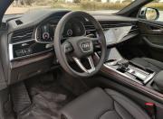 Audi Q8 steering wheel