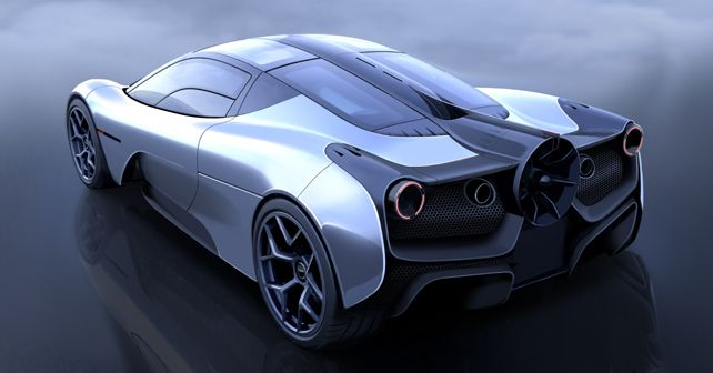 Gordon Murray Automotive T.50 supercar first look revealed