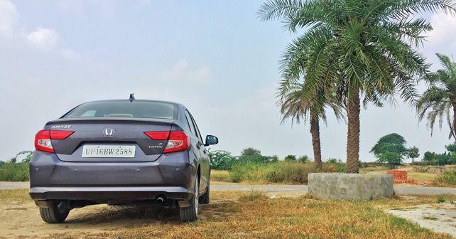 Honda Amaze Rear view