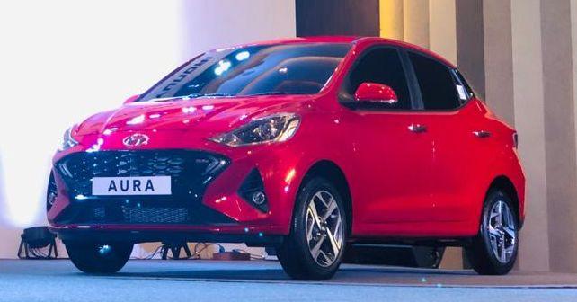 Hyundai Aura Front Quarter Static