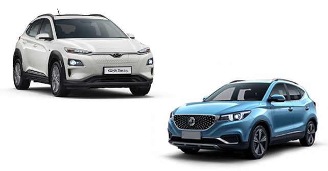 Hyundai Kona Electric Vs MG ZS EV Spec Comparison
