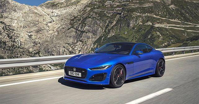 Jaguar F Type Facelift Revealed India Bound