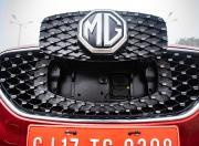 MG ZS EV grille plug socket