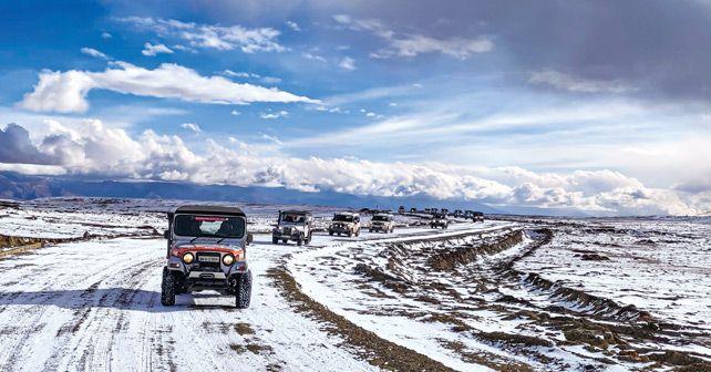 Mahindra Adventure Authentic Mustang 2019 Kor La Nepal Tibet
