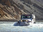 Mahindra Adventure Authentic Mustang 2019 Thar river crossing