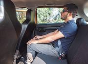 Maruti Suzuki S Presso rear seat space