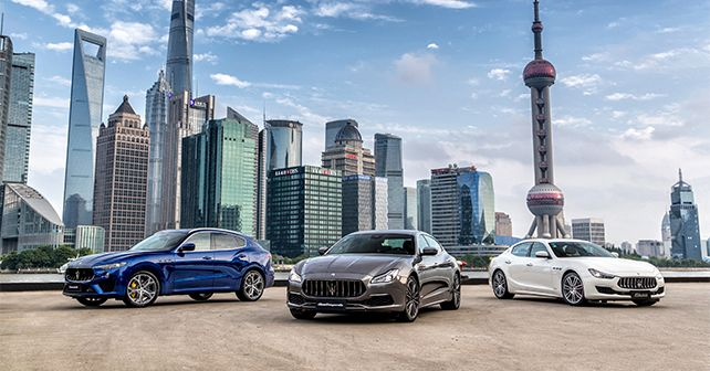 Maserati Quattroporte Ghibli Levante Petrol Launched
