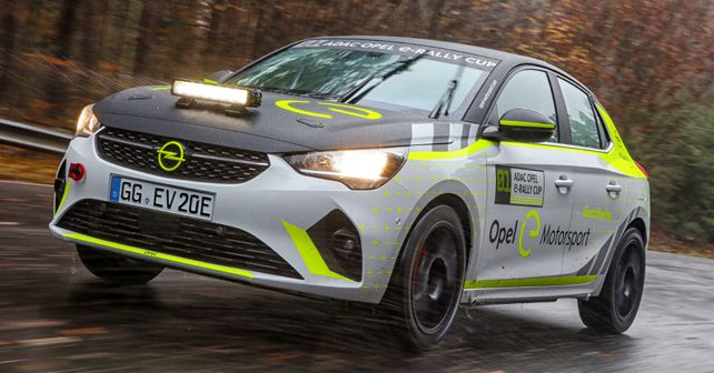 Opel Corsa E Rally begins testing