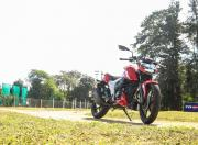 TVS Apache RTR 160 4V BS6 front