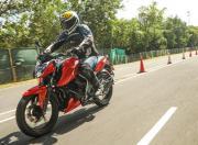 TVS Apache RTR 160 4V BS6 test ride