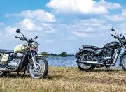 Jawa Forty Two vs Benelli Imperiale 400 - Photos