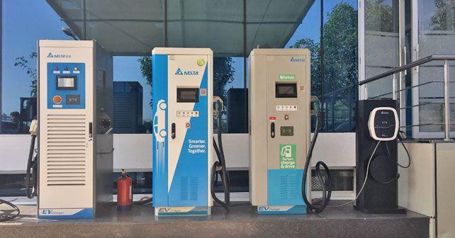 Delta Electronics Charging Stations