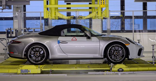 Final Porsche 911 Speedster rolls off the production line