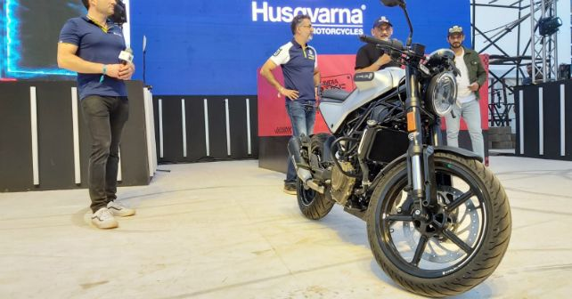 Husqvarna Vitpilen 250 India Bike Week 2019