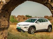 hyundai kona electric front three quarter