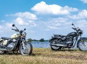 jawa forty two vs benelli imperiale 400