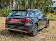 new mercedes benz glc image rear three quarter