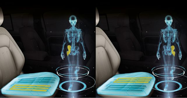 JLR's new shape-shifting seat makes your brain think you're walking