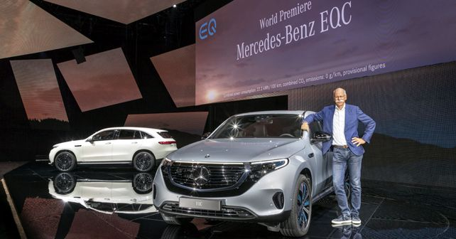 Mercedes-Benz EQC World Premiere in Stockholm